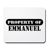 Property of Emmanuel Mousepad
