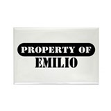 Property of Emilio Rectangle Magnet (10 pack)