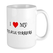 Tri Toy Fox Terrier XL Mug