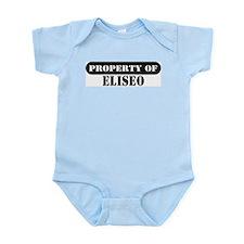 Property of Eliseo Infant Bodysuit