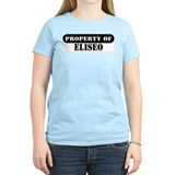 Property of Eliseo Women's Pink T-Shirt