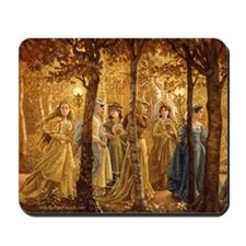 Golden Wood Princesses Mousepad