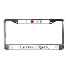 TFT License Plate Frame