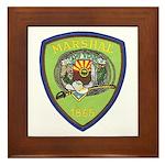 Camp Verde Marshal Framed Tile