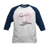 Love is my Polish Lowland Sheepdog Tee