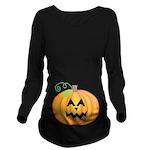 Halloween Jack O Lantern Pumpkin Long Sleeve Mater