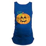 Halloween Jack O Lantern Pumpkin Maternity Tank To