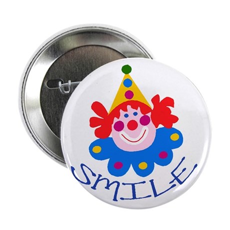 "Clown 2.25"" Button (100 pack)"