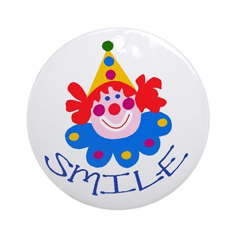 Clown Ornament (Round)