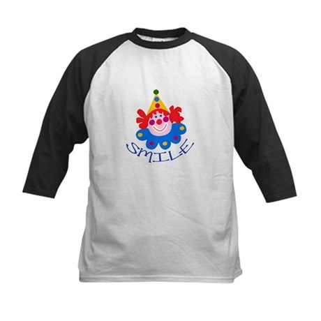 Clown Kids Baseball Jersey