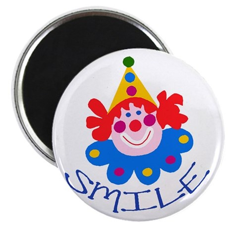 "Clown 2.25"" Magnet (100 pack)"