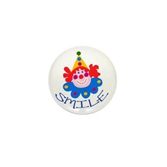 Clown Mini Button (10 pack)