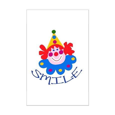 Clown Mini Poster Print