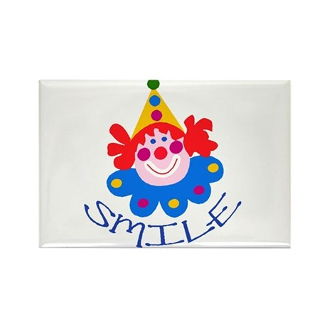 Clown Rectangle Magnet (100 pack)