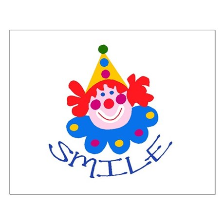 Clown Small Poster