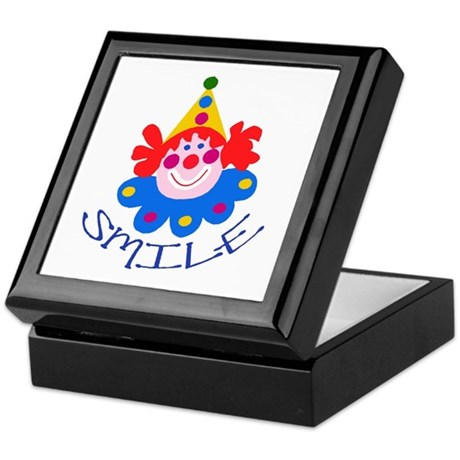 Clown Keepsake Box