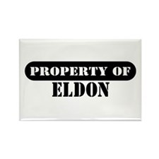 Property of Eldon Rectangle Magnet (100 pack)