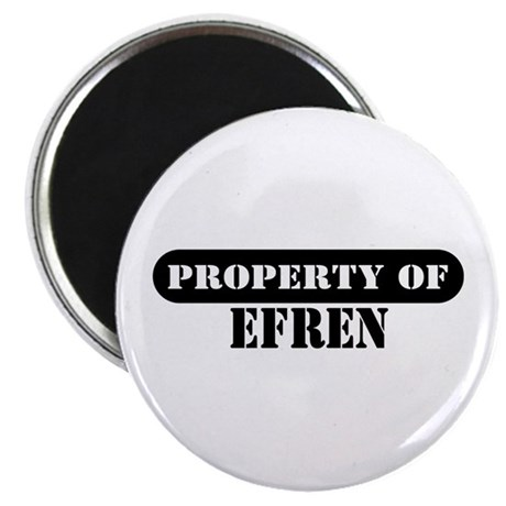 Property of Efren Magnet