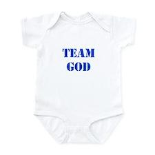 Blue Team God Infant Bodysuit