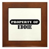 Property of Eddie Framed Tile