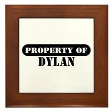 Property of Dylan Framed Tile