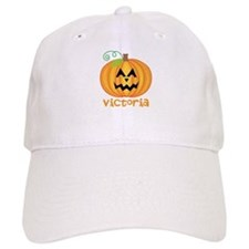 Personalized Halloween Pumpkin Baseball Cap