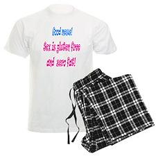 Gluten free sex (bright) pajamas