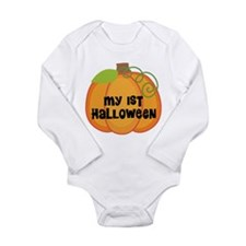 My 1st Halloween Long Sleeve Infant Bodysuit