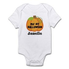 Personalized Halloween Pumpkin Infant Bodysuit
