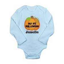 Personalized Halloween Pumpkin Long Sleeve Infant