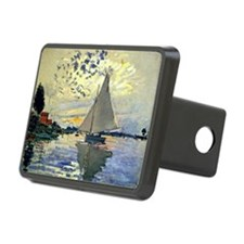 Monet - Sailboat at Le Pet Hitch Cover