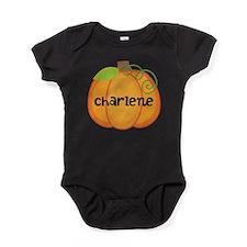 Personalized Halloween Pumpkin Baby Bodysuit