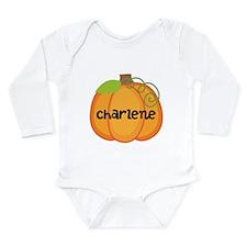 Personalized Halloween Pumpkin Long Sleeve Infant