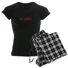 LEGEND-HAS-RETIRED-kon-red Pajamas