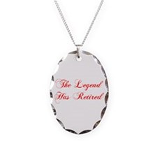 LEGEND-HAS-RETIRED-cho-red Necklace