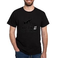 Super power wrestling designs T-Shirt