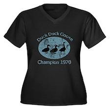 Vintage Duck Duck Goose Champion 1970 Plus Size T-