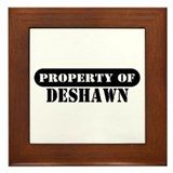 Property of Deshawn Framed Tile