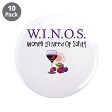 """W.I.N.O.S. Sanity 3.5"""" Button (10 pack)"""