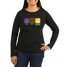 Peace Love Australian Cattle Dog Long Sleeve T-Shi