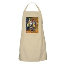 Renoir - Flowers in a Vase Apron