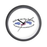 Padre de Tres Angelitos BGB Wall Clock
