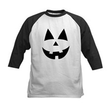 Pumpkin Face Baseball Jersey