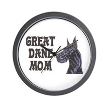 C Blk GD Mom Wall Clock