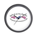 Padre de Tres Angelitos GBG Wall Clock