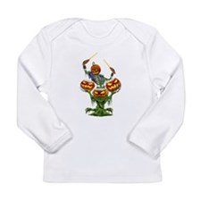 PUMPKIN DRUMMER Long Sleeve T-Shirt