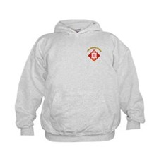 SSI-18th Engineer Brigade with text Sweatshirt