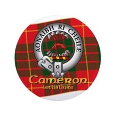 "Cameron Clan 3.5"" Button"