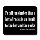 Box Of Rocks Mousepad