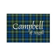Tartan - Campbell of Argyll Rectangle Magnet